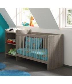 Lit rangement langer gwen tidy home - Table a langer lit bebe ...