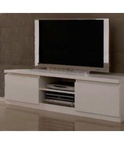 meuble tv design noir tidy home. Black Bedroom Furniture Sets. Home Design Ideas