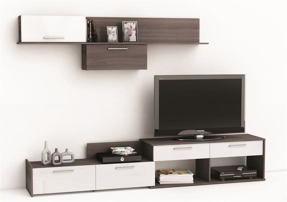 Television pas cher for Meuble living tv