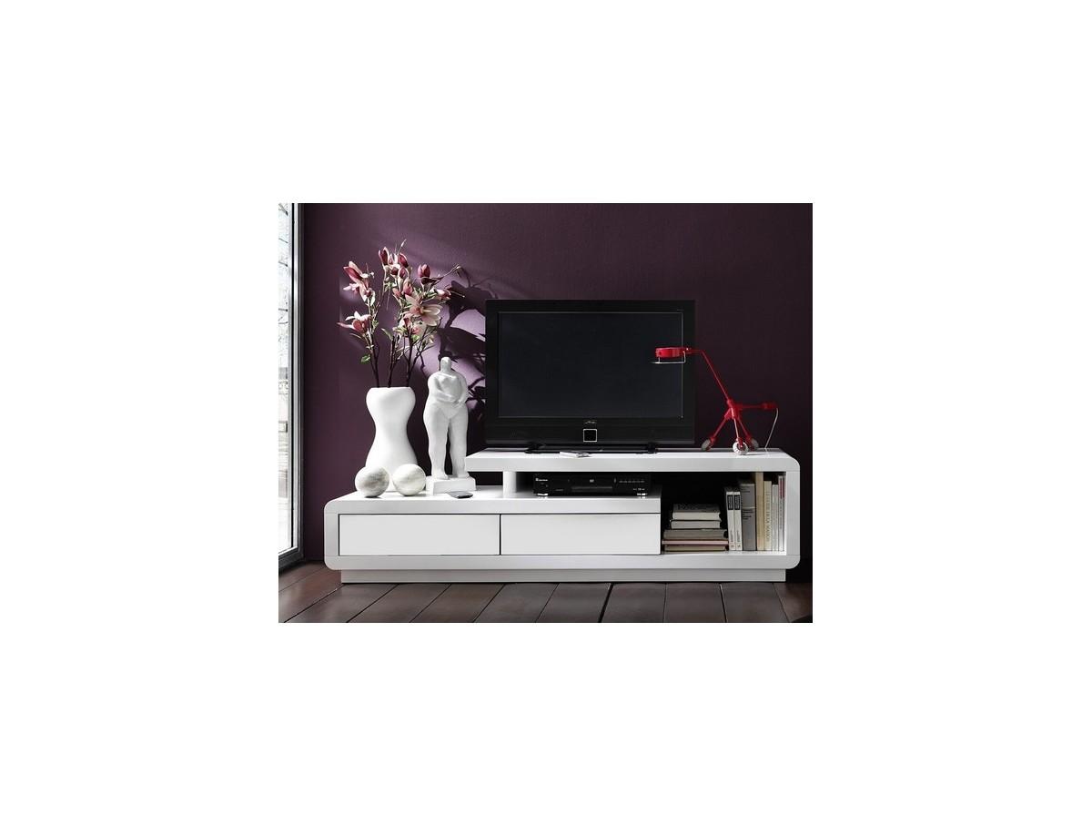 Tidy Meuble Latest Combinaison Rangement Blanc Combinaison  # Meuble Tv Sixties