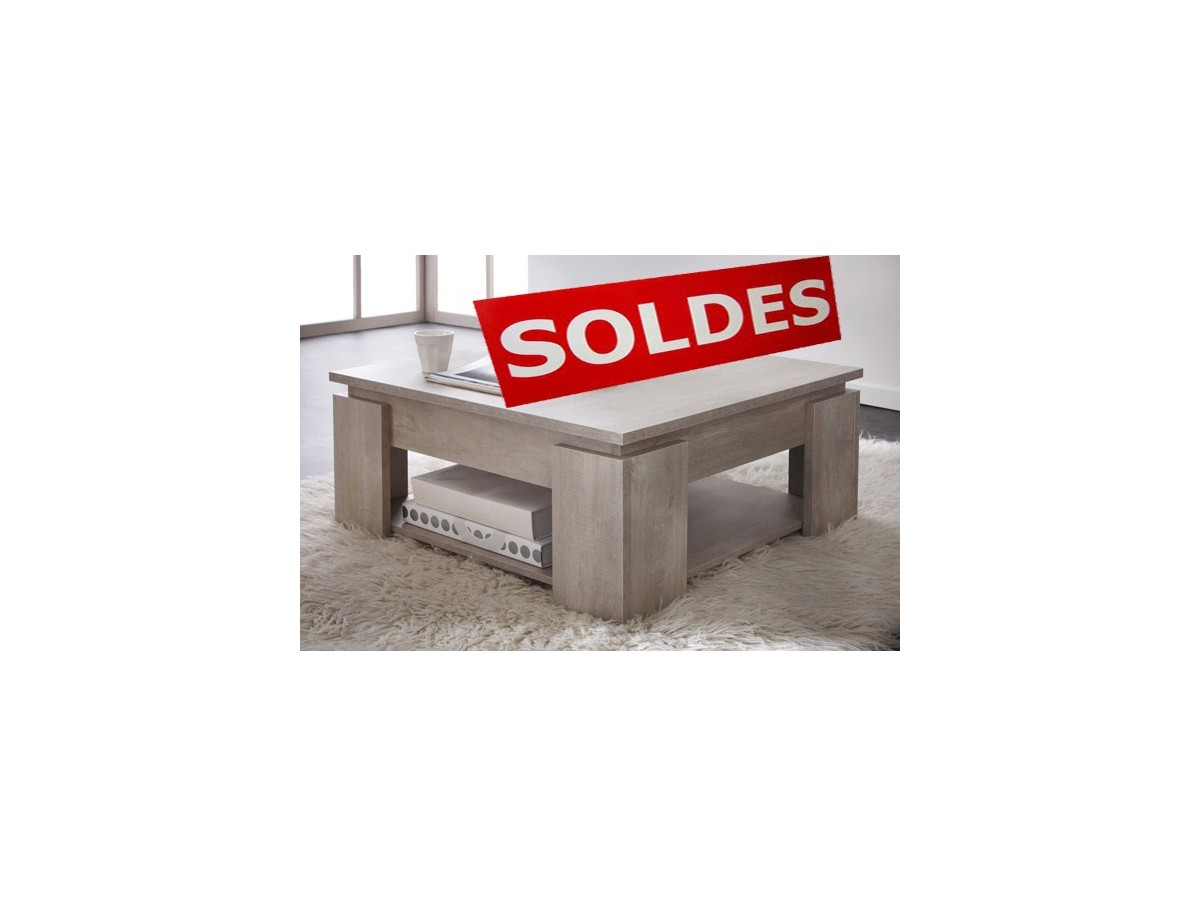 Table basse solde for Soldes mobilier