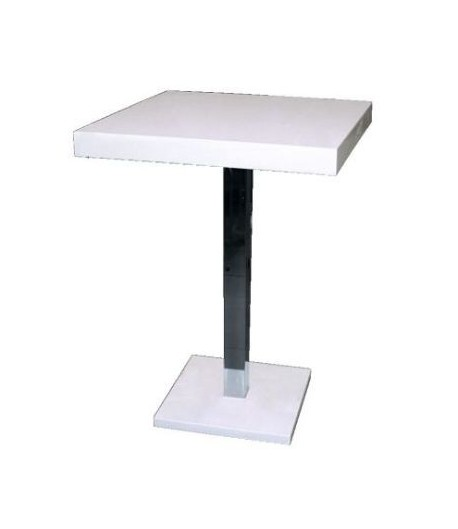 table haute laqu 2 personnes tidy home