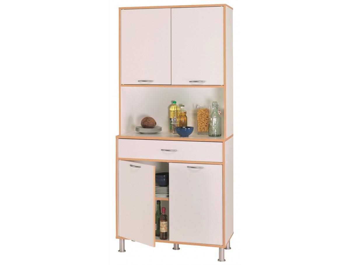 Buffet de cuisine 4 portes 1 tiroir tidy home for Buffet de cuisine haut