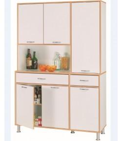 loge tout 2 2 portes 2 niches 1 tiroir mango tidy home. Black Bedroom Furniture Sets. Home Design Ideas