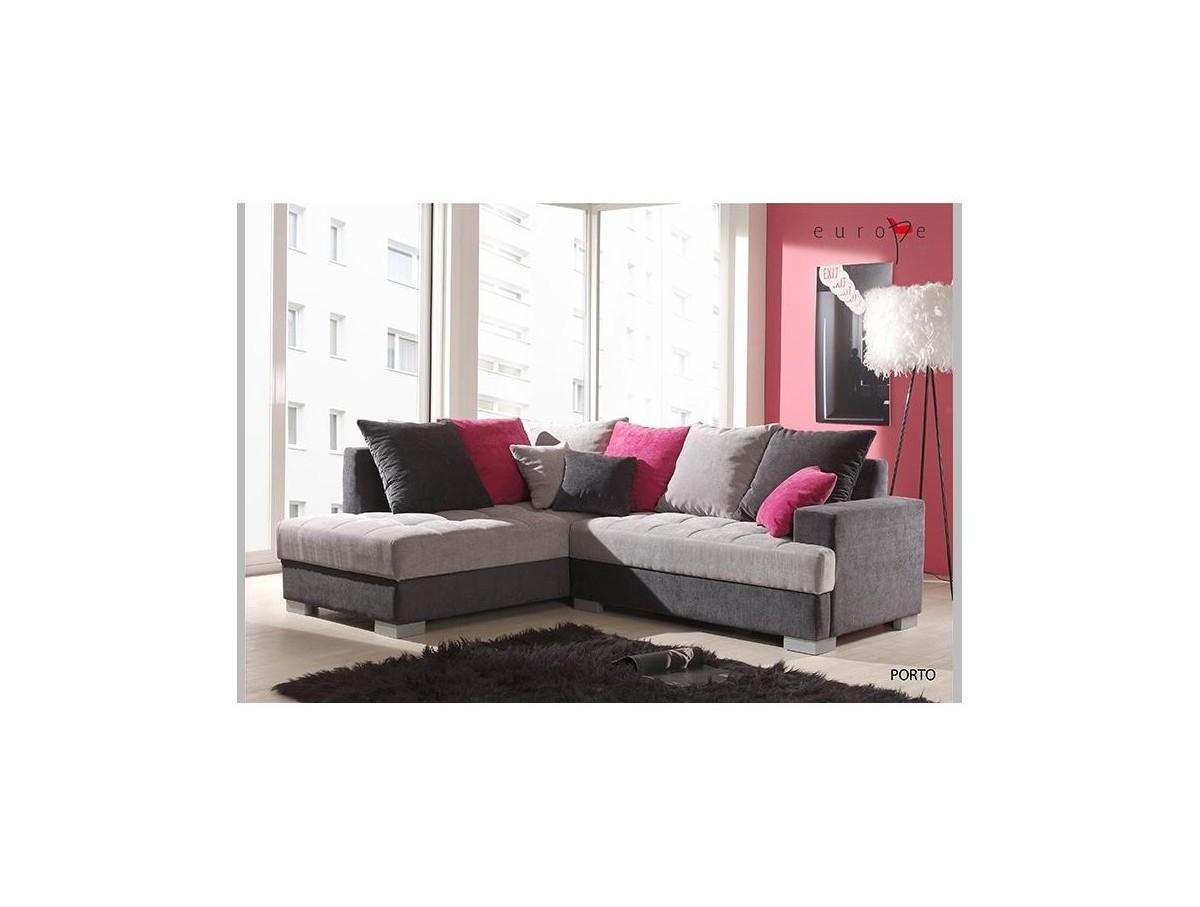 Salon d 39 angle rico x 2m tidy home - Canape d angle 2 metres ...