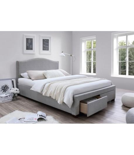 Lit avec tiroir oleron 140x200 tidy home for Chambre à coucher adulte avec prix matelas pour lit medicalise
