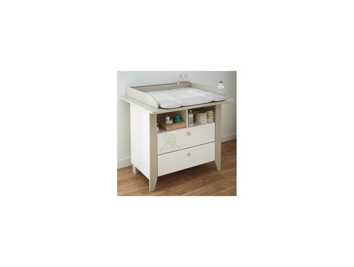 Commode teddy a langer grand mod le tidy home - Commode table a langer ...