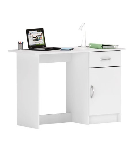 Bureau 1 porte 1 tiroir osiris tidy home for Bureau 1 tiroir jimi