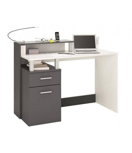 bureau 1 porte 1 tiroir aurelie tidy home. Black Bedroom Furniture Sets. Home Design Ideas