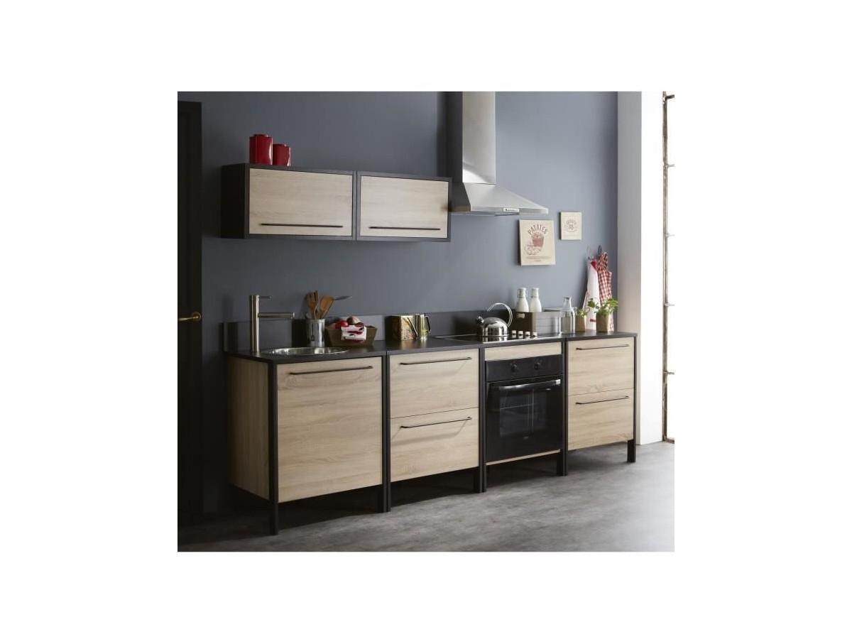 cuisine industrielle design conceptions de maison. Black Bedroom Furniture Sets. Home Design Ideas